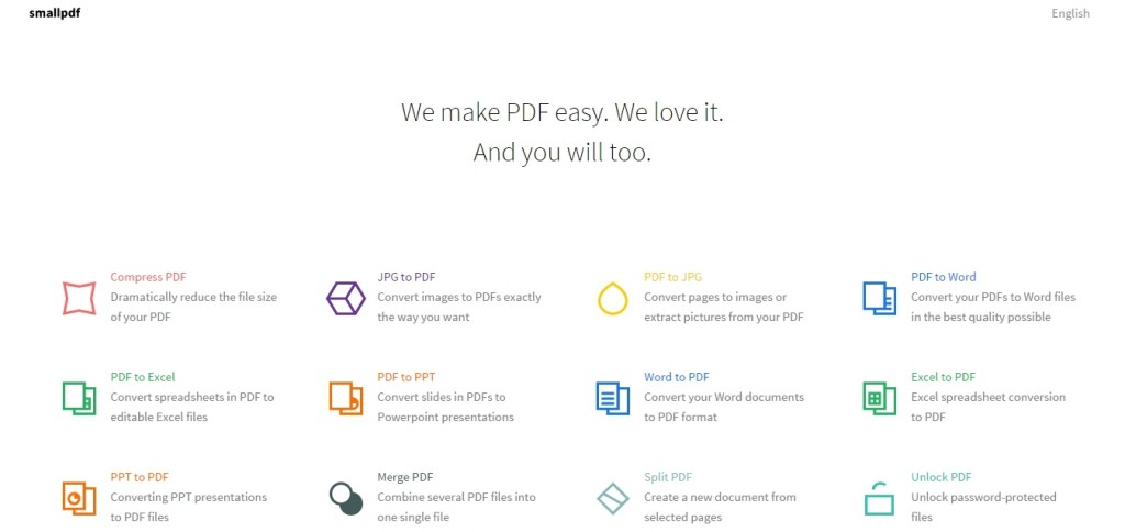 Smallpdf Screenshot