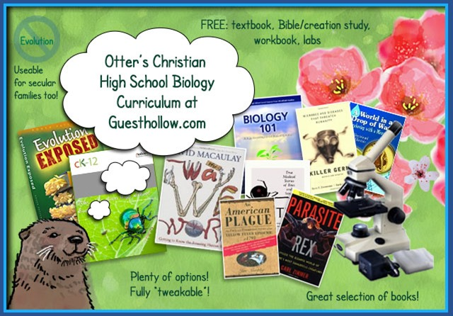 Otter's Christian High School Biology Curriculum