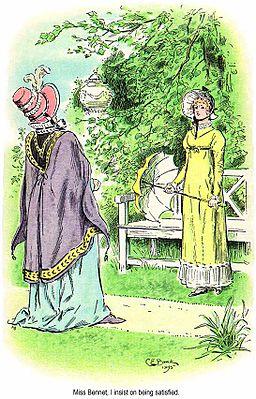 Lady Catherine and Elisabeth