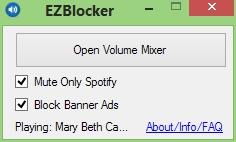 EZBlocker Screenshot