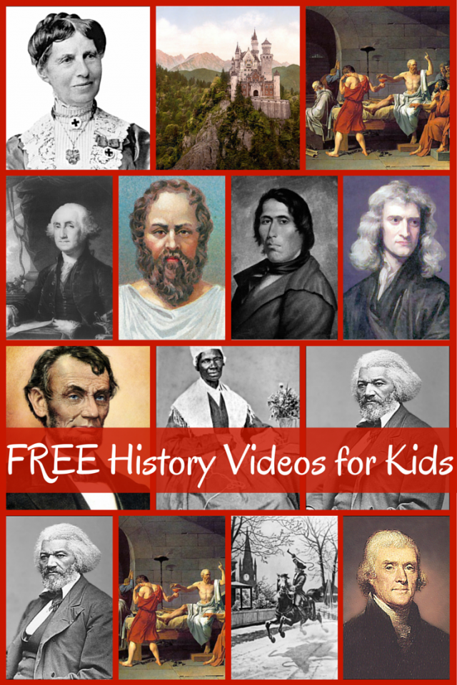 FREE History Videos for Kids (Picture from brookdalehouse.com)