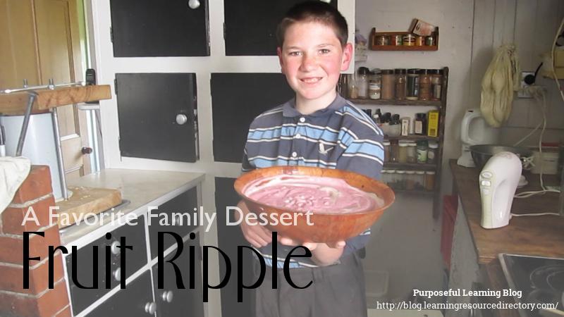 Fruit Ripple Recipe