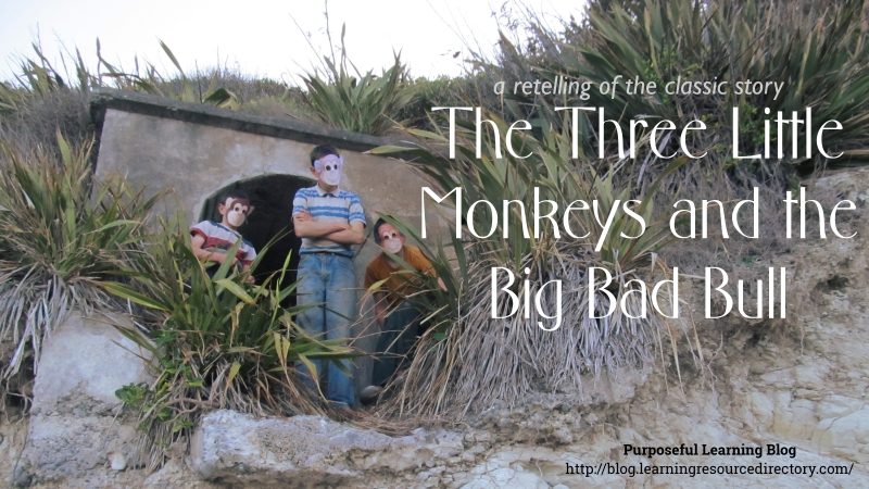 The Three Little Monkeys and the Big Bad Bull video