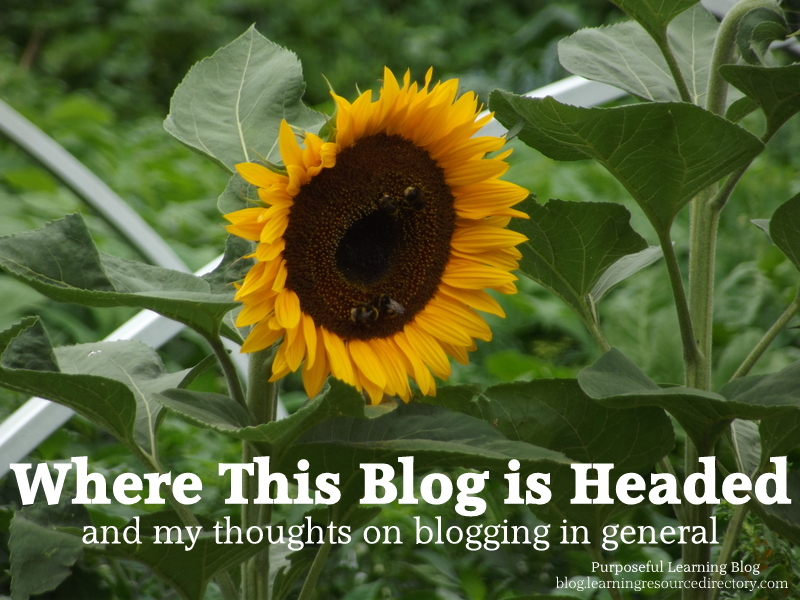 Where This Blog is Headed