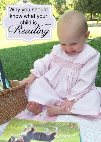 Why you should know what your child is reading