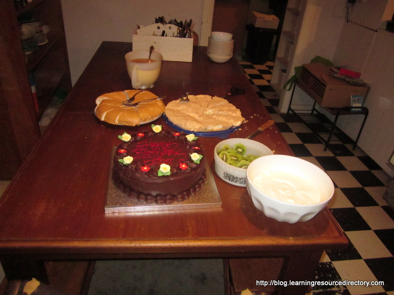 Birthday deserts