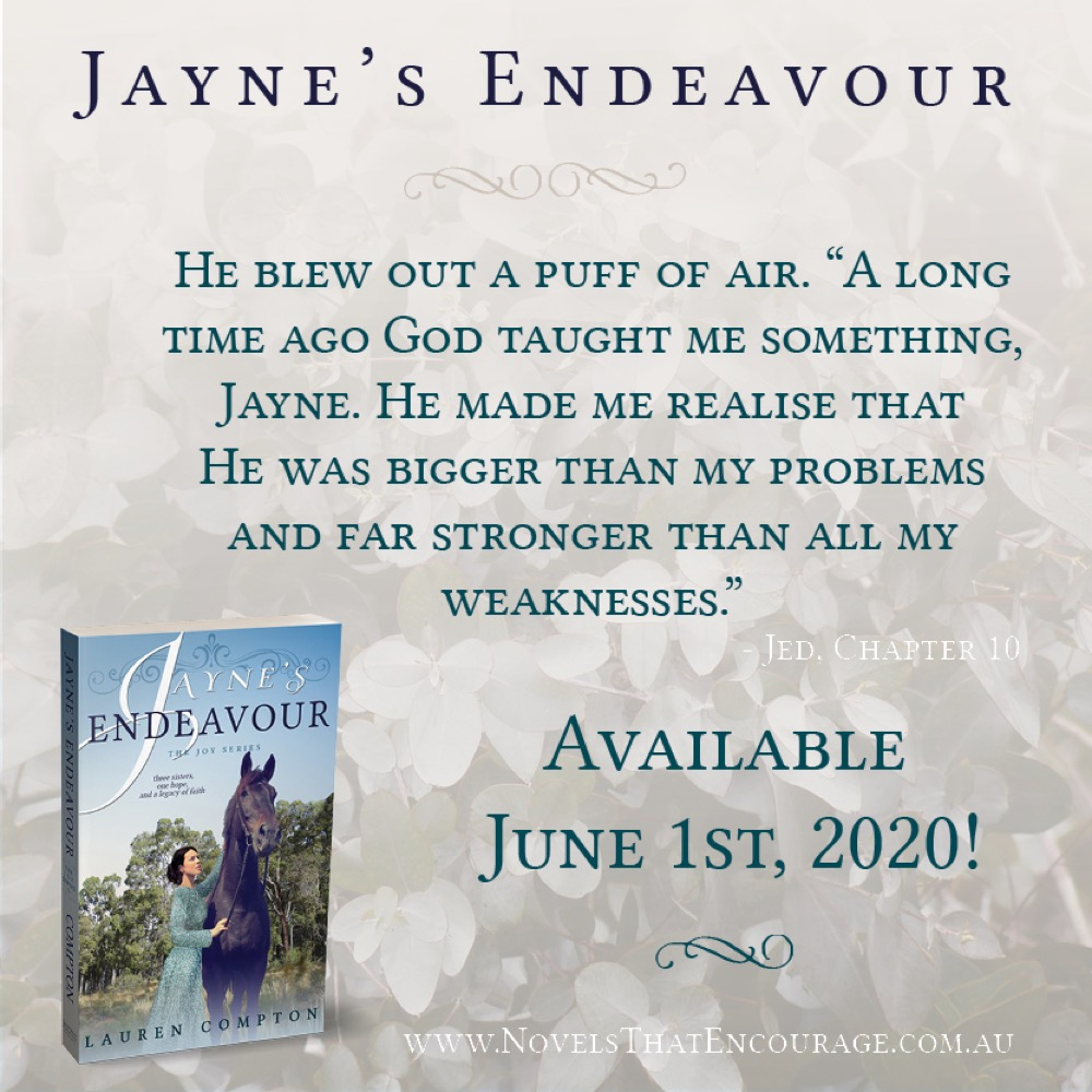 Jayne's Endeavour Blog Tour: Special Recipe Post and Giveaway!